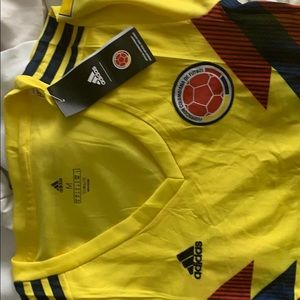 Women soccer adidas Colombia shirt